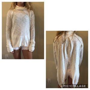 Free People Turtle Neck Sweater